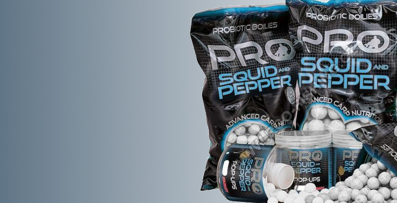 Boilies STARBAITS Probiotic Squid Pepper
