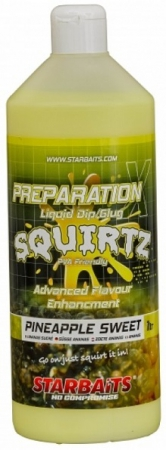 Starbaits Booster Prep x Squirtz 1L Pineapple Sweet
