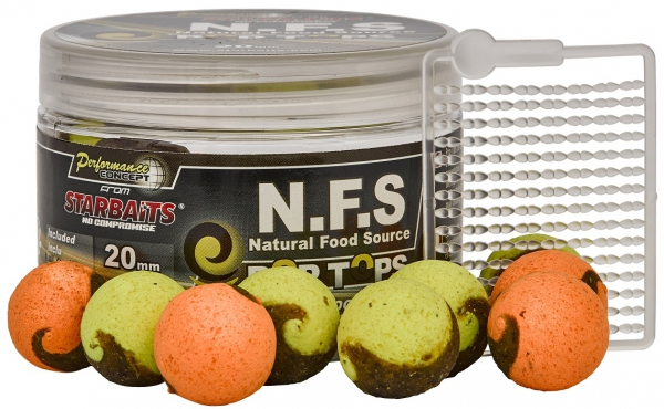 Starbaits N.F.S POP TOPS 20mm 60g
