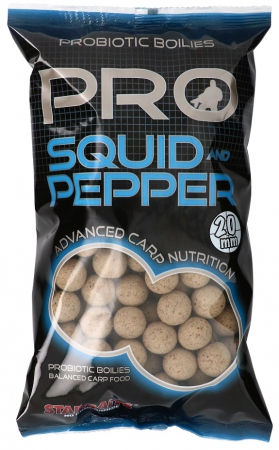 Boilies STARBAITS Probiotic Squid & Pepper 1kg