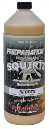 Starbaits Booster Prep x Squirtz 1l Scopex