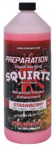 Starbaits Booster Prep x Squirtz 1l Strawberry