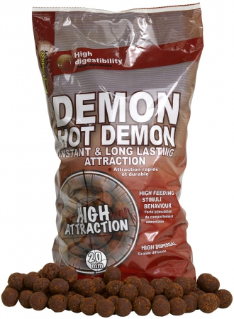 Boilies STARBAITS Hot Demon 2,5kg 20mm