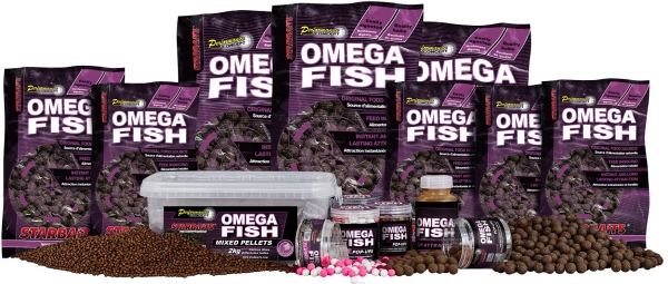Boilies STARBAITS Omega Fish 1kg 20mm