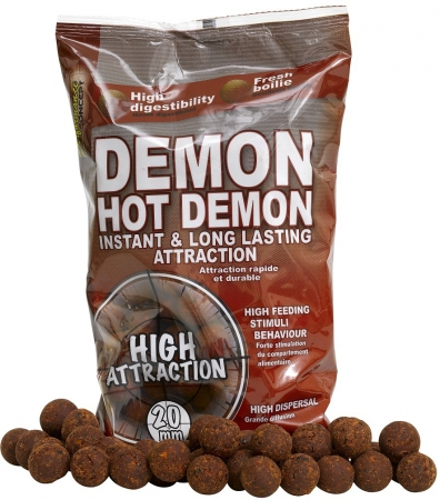 Boilies STARBAITS Hot Demon 1kg 20mm