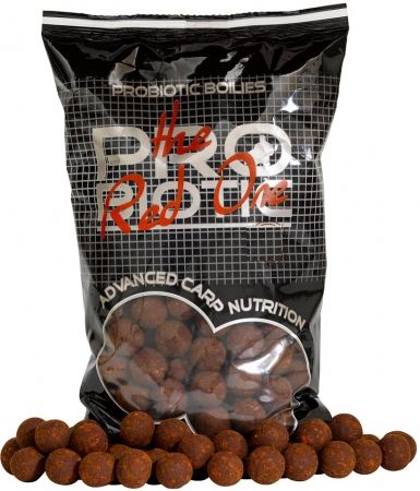Boilies STARBAITS Probiotic Red One 1kg 20mm
