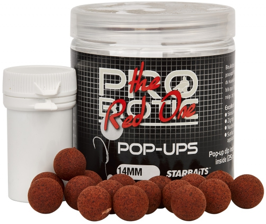 Plovoucí boilies STARBAITS Probiotic Red One 60g 14mm