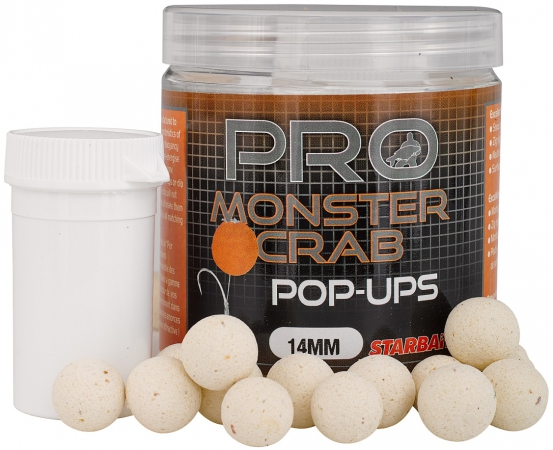 Plovoucí boilies STARBAITS Probiotic Monster Crab 80g 14mm