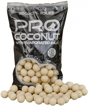 Boilies STARBAITS Probiotic Coconut 1kg 20mm