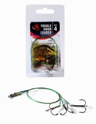 Filfishing Lanko s Trojhákem Treble Hook Leader