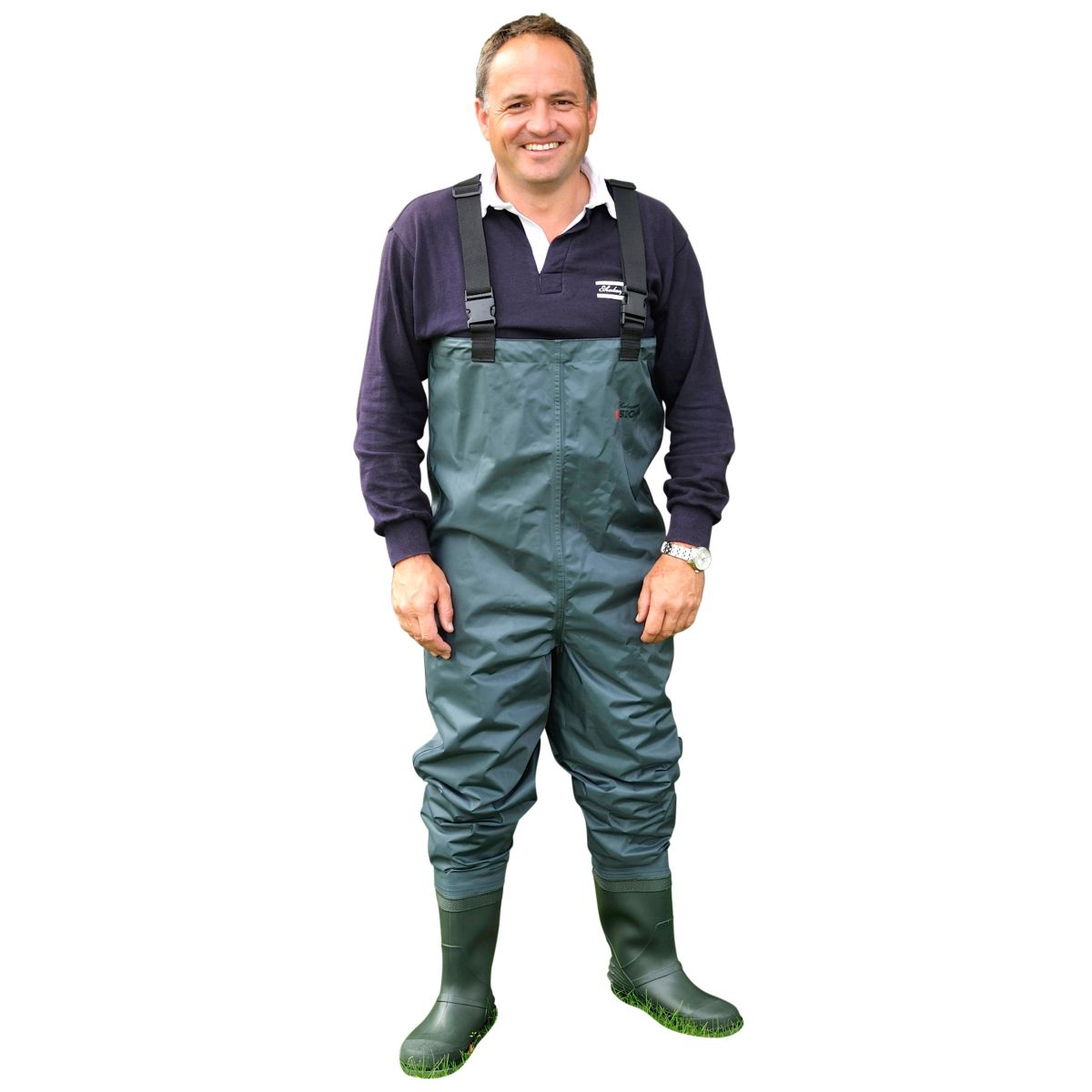 Prsačky Shakespeare Sigma Nylon PVC Chest Wader Cleated Sole vel. 12