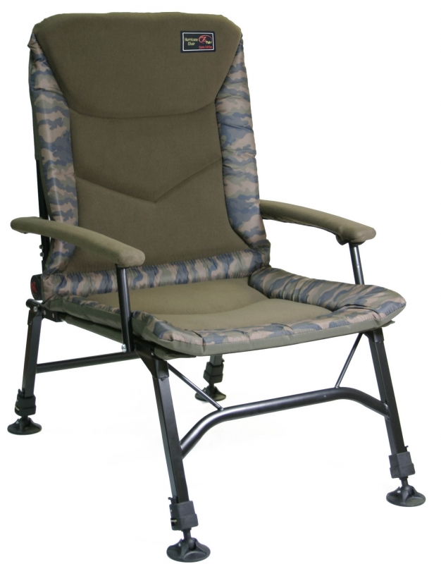 Zfish Křeslo Hurricane Camo Chair
